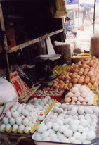 Eggs seller in Beijing